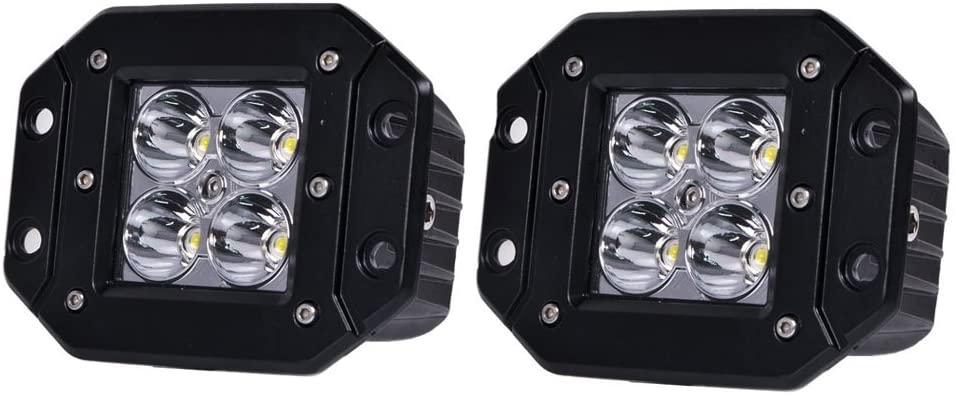 16 Watt CREE Flush Mount LED Light Bar Led Spot Light Set Of 2