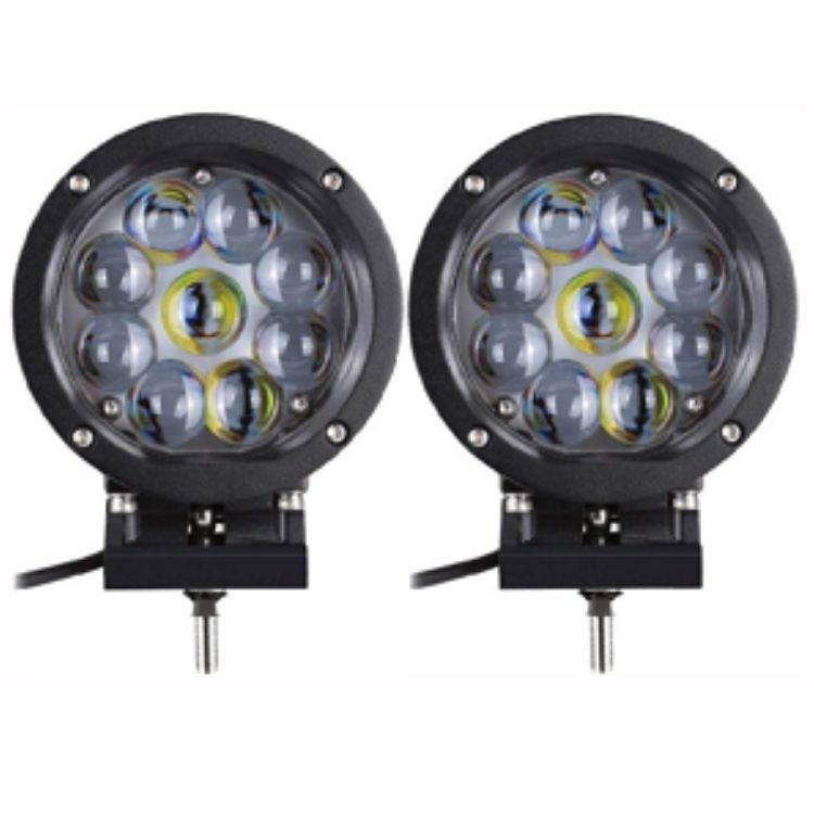 Led Spot Light / Led Light Bar 45 Watt Projector LED Spot Lights Set Of 2