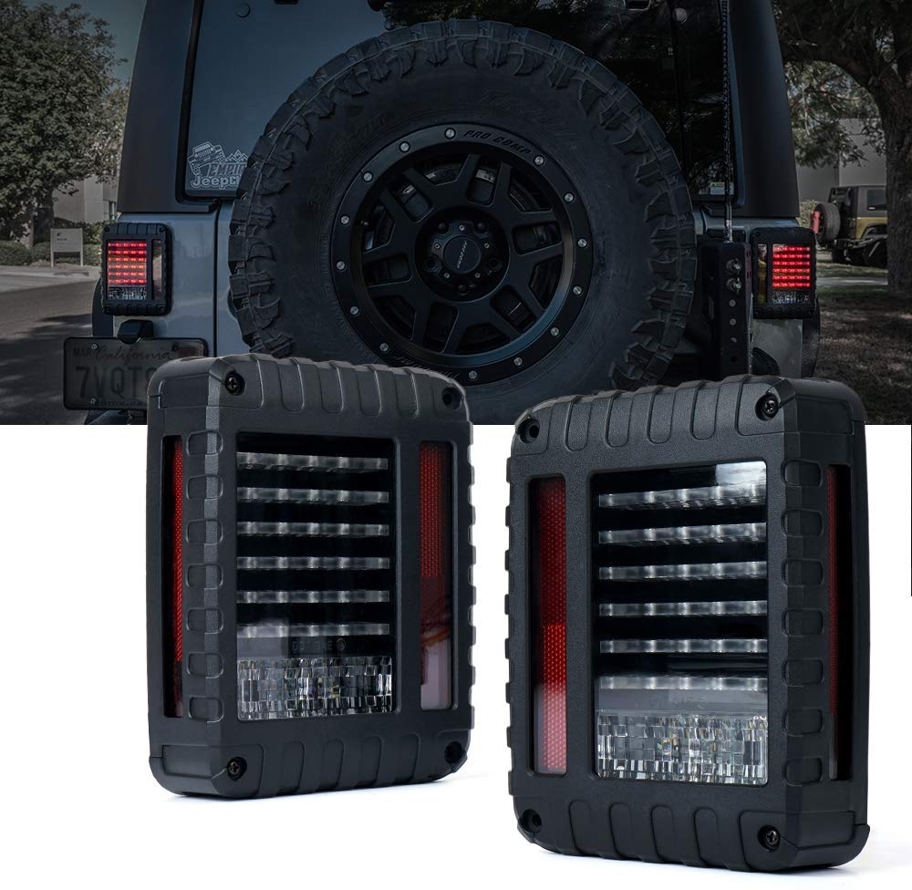 JK-LT3 LED Tail Lights – JEEP