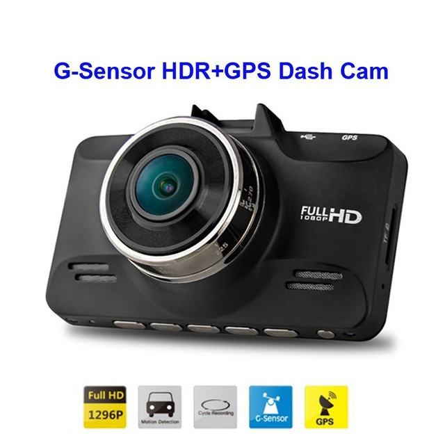 GS98C GPS Integrated Ultra HD Dashcam