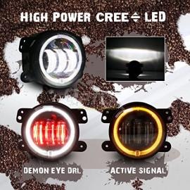4 Inch Dragon Eye Fog Lights