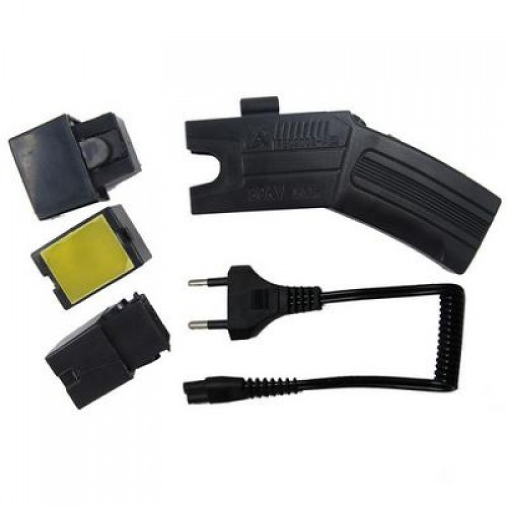 Tazer / Stun Gun + 3 Cartridges, Laser Sight, 80KV