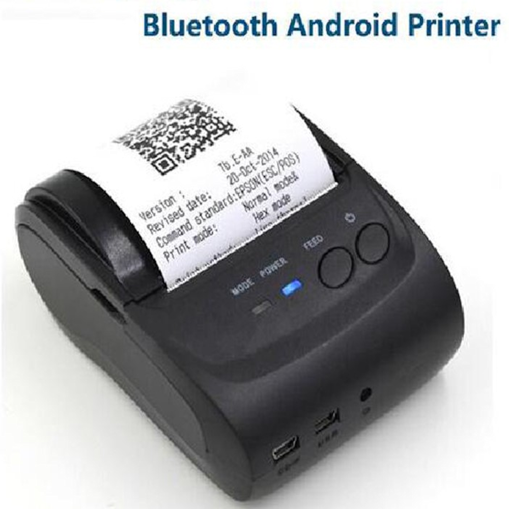 SDK Wireless Android Bluetooth Thermal Printer 58mm Mini Bluetooth Thermal  Receipt Printer - Bluetooth Android
