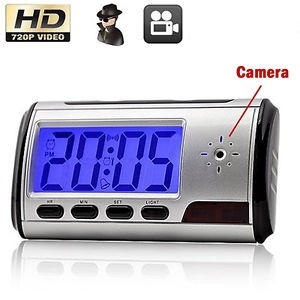 Nanny Cam, Hidden Camera Clock