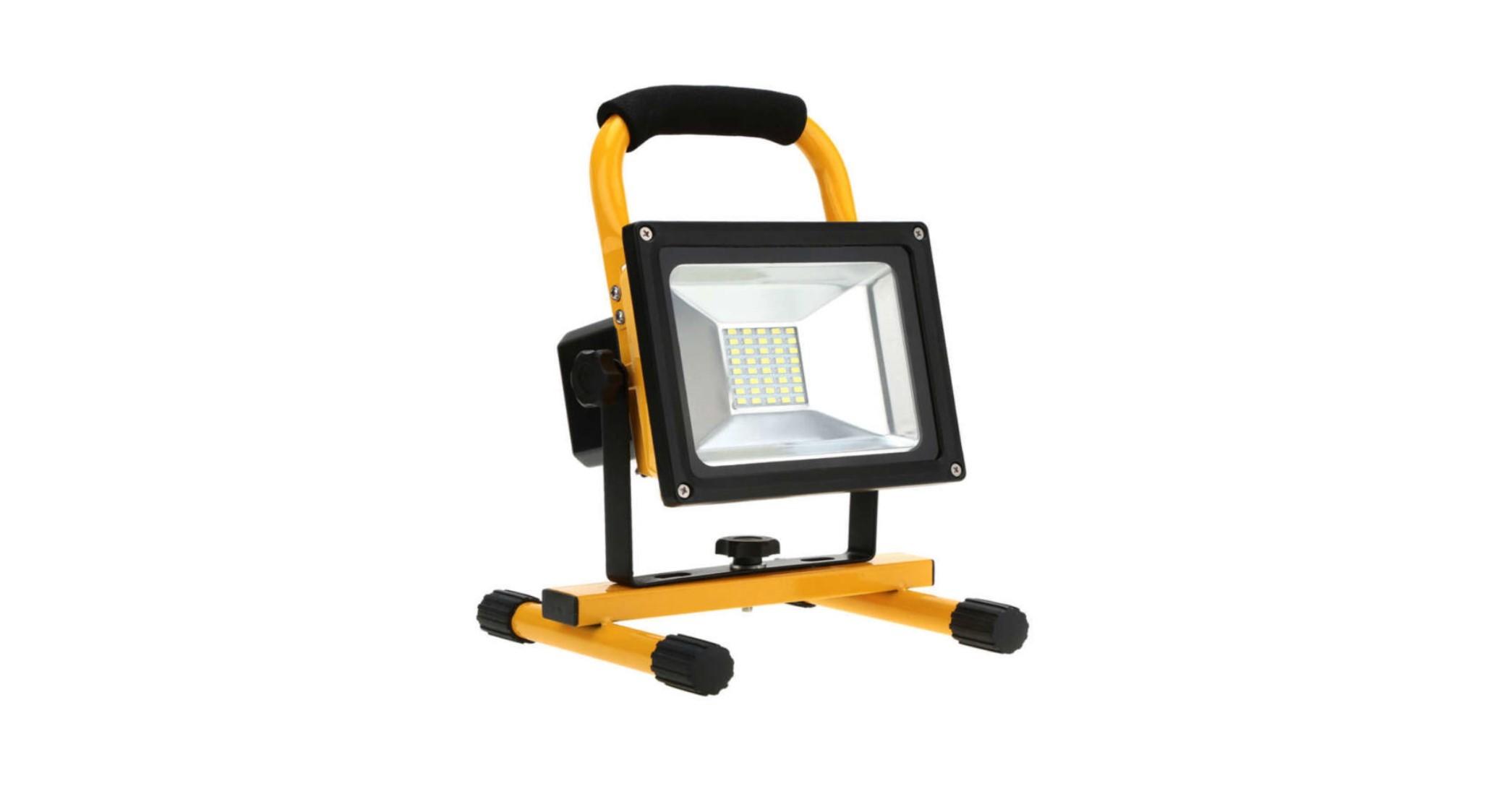 20 Watt Rechargeable LED Flood Light