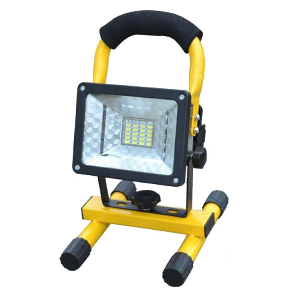 30 Watt Rechargeable LED  Floodlight