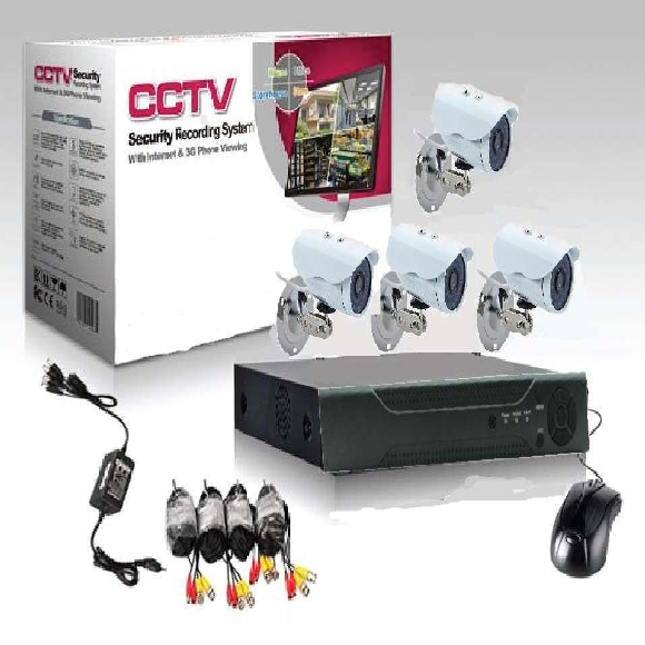 Intelli-Vision Tech 4CH CCTV Kit