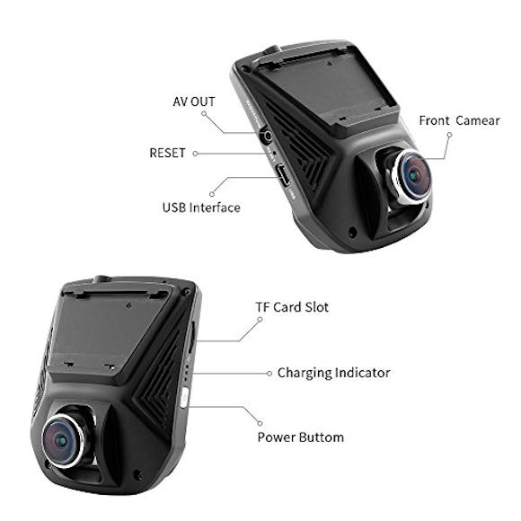 A305 1080P Full HD Video Recorder Dash Camera