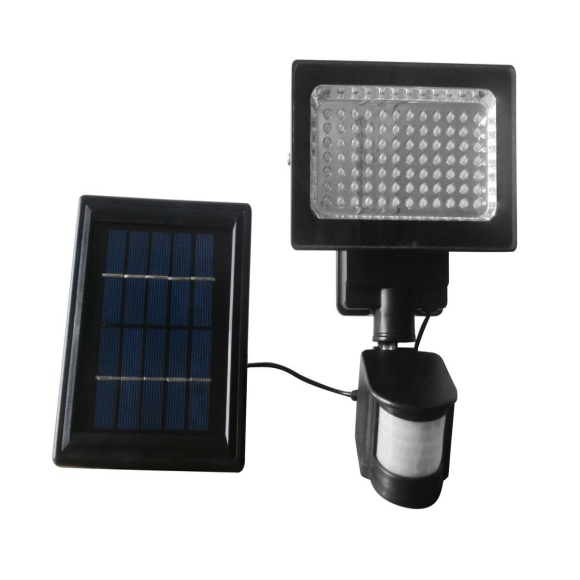 Solar Motion Detection Security LED Light With Solar Panel Internal Battery
