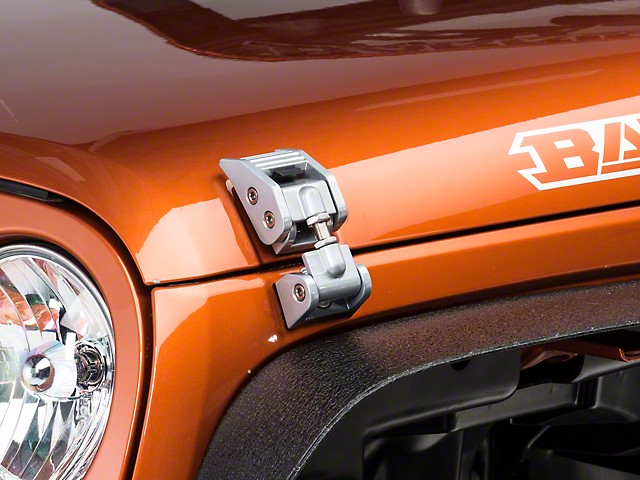 JK Aluminium Hood Latches Grey – JEEP