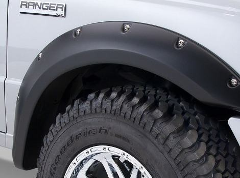 Ford Ranger T6 Studded Wheel Arches
