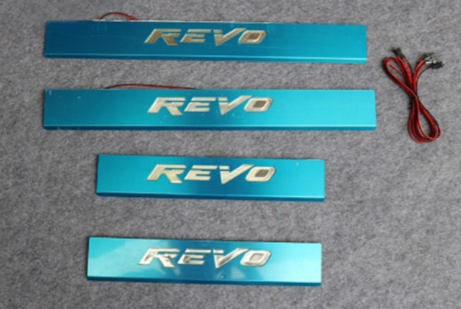 Step Plates With LED For Toyota Hilux Revo