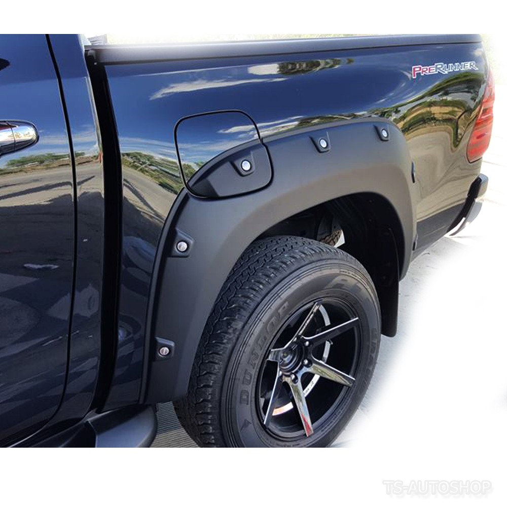 Studded Wheel Arches For Toyota Hilux Revo