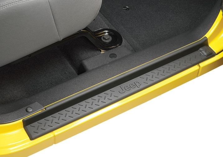 Jeep Wrangler ABS 2 Door Entry Guard With JEEP Logo