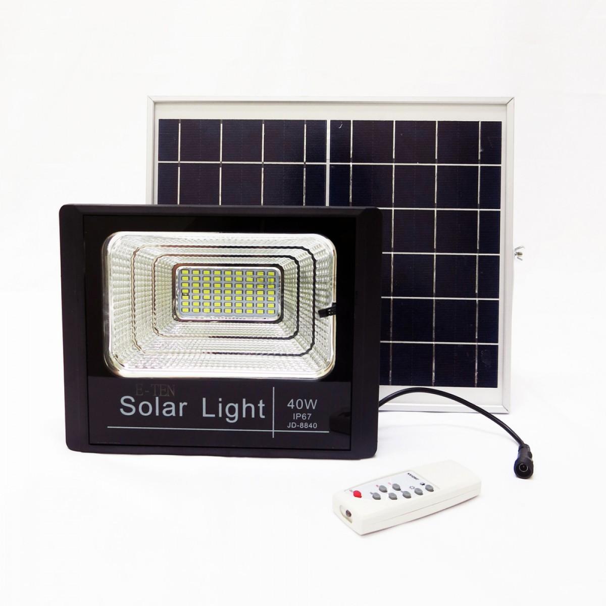 40 Watt Solar Floodlight