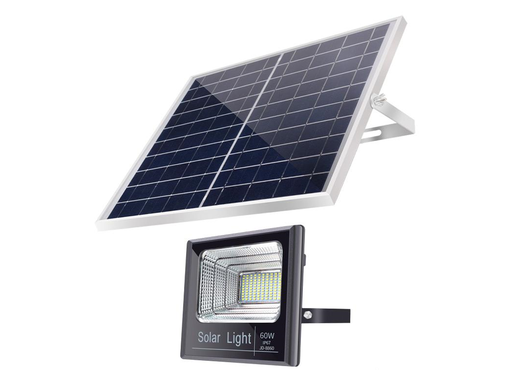 60 Watt Solar Floodlight Efficient