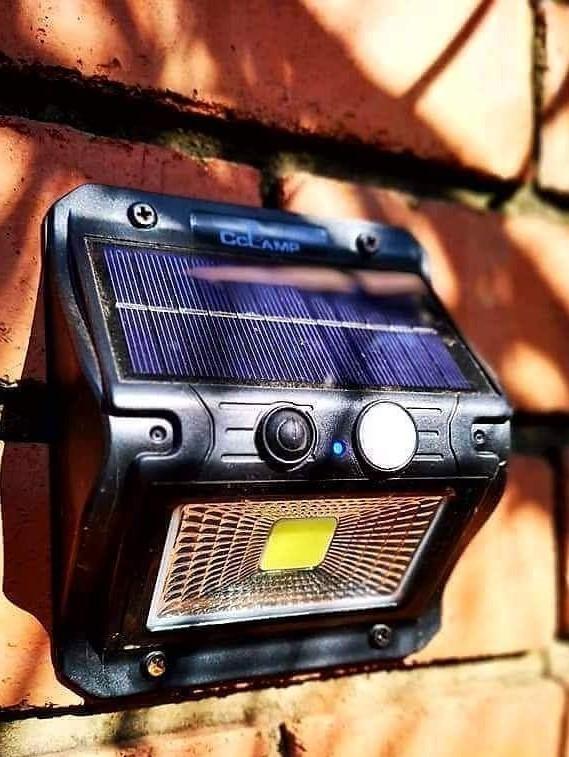 10 Watt Solar Motion Sensor Wall Mount