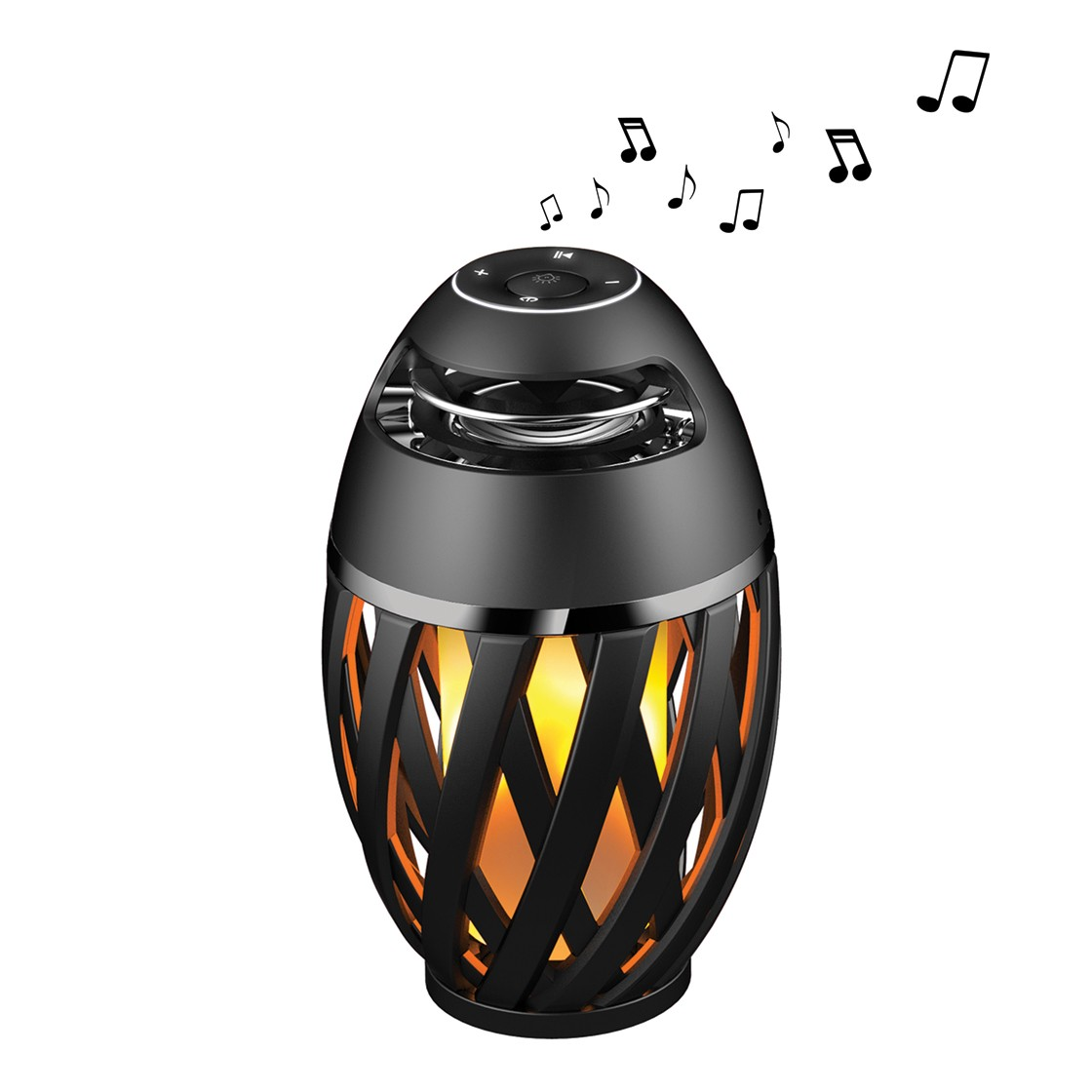 Flame Effect Atmosphere LED & Bluetooth Speaker