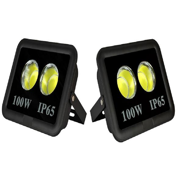100 Watt COB LED Flood Light Outdoor Lighting Reflector