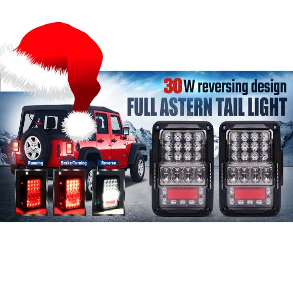 JK-LT7 LED Tail Lights – JEEP