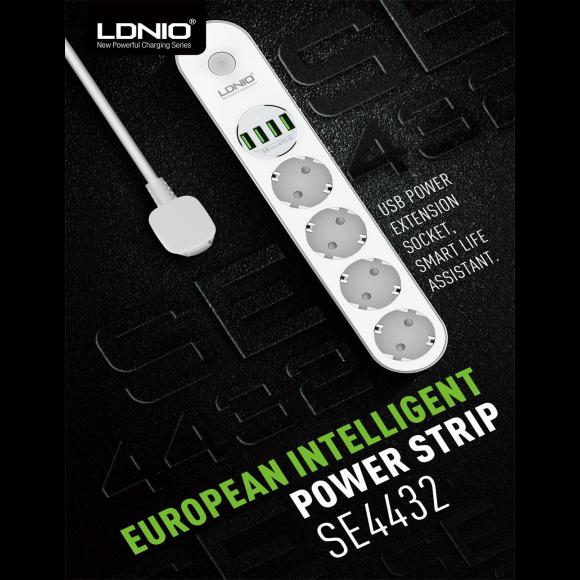 LDNIO 4U Anti Static Power