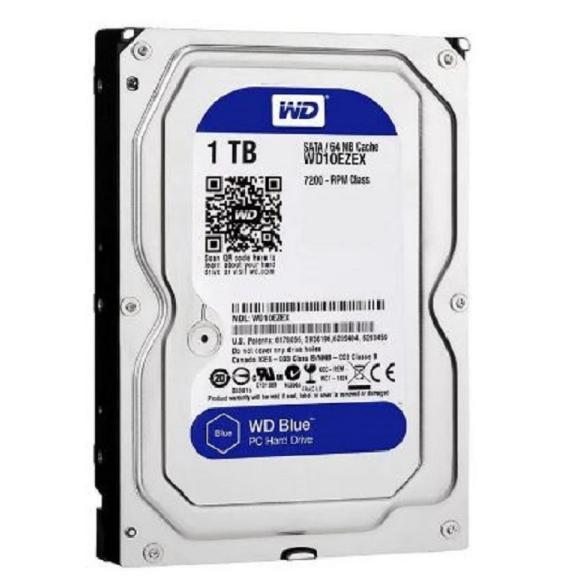 WD Blue 1TB 3.5″ SATA 6Gb/s 64MB Internal Hard Drive