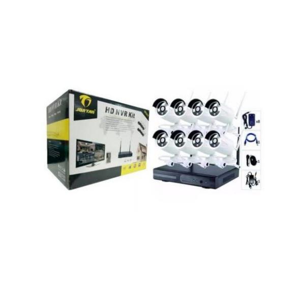 Jortan 8 Channel Wireless CCTV System Kit