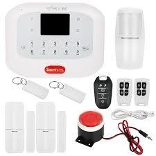 KKmoon 433MHz Wireless GSM+PSTN SMS Alarm Security System