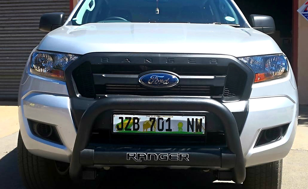 Ford Ranger Black Nudge Bar T6 And T7 Efficient Express