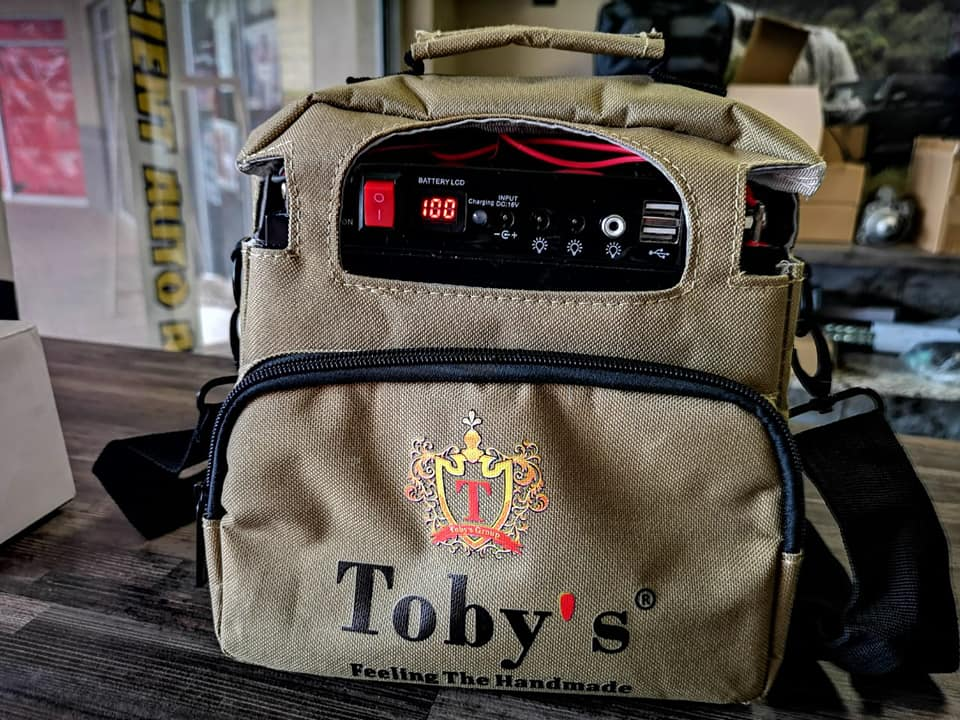 All-in-one Tobys Portable LED Kitbag Is Ideal For The Campers