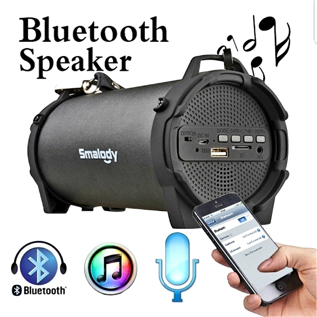 Wireless Bluetooth Speaker Outdoor Portable Stereo With HD Audio