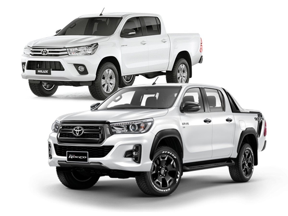 Toyota Hilux Body Kit Upgrade To Rocco 2018 Facelift Bumper And Grill Chrome Trim (Courier Not Included, Please Request Separate Quote)
