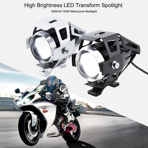 U5 MOTORCYCLE LED Spot Set