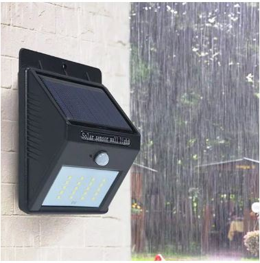 20 LED Security Garden Garage Solar Motion Sensor Light