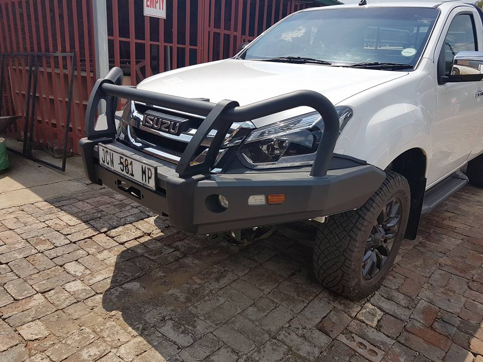 Isuzu D-Max KSL Replacement Bumper (Courier Not Included, Please Request Separate Quote)