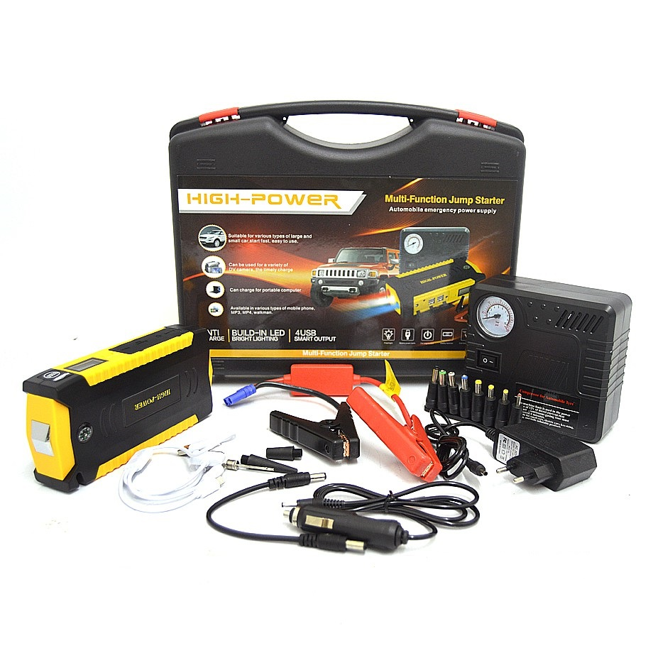 Multi Function Jump Start Kit With Air Compressor