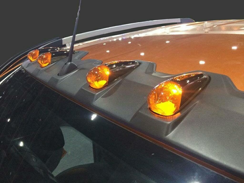 Light LED Cap Front Roof Spoiler Ford Ranger T6 PX1 PX2 Wildtrak Ute 2012-2017