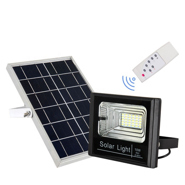 Cclamp 10 Watt Solar Flood Light With