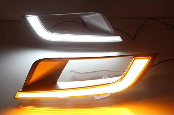 Ford Ranger Wildtrak T7 (2016-On) LED Front Bumper Foglamp With Indicator Function