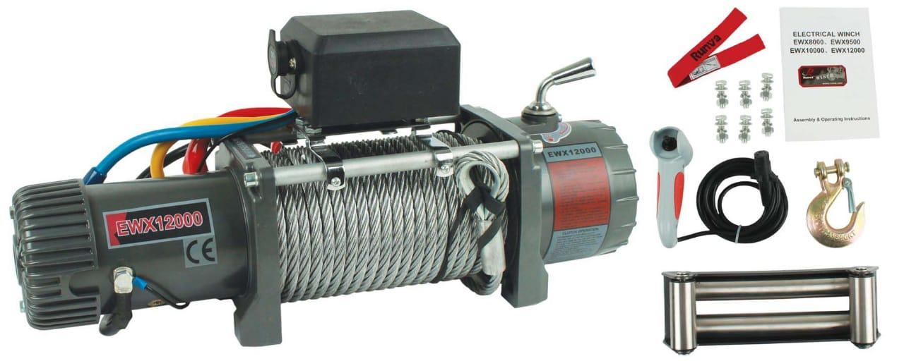 RUNVA EWX 1200 ELECTRIC CABLE WINCH