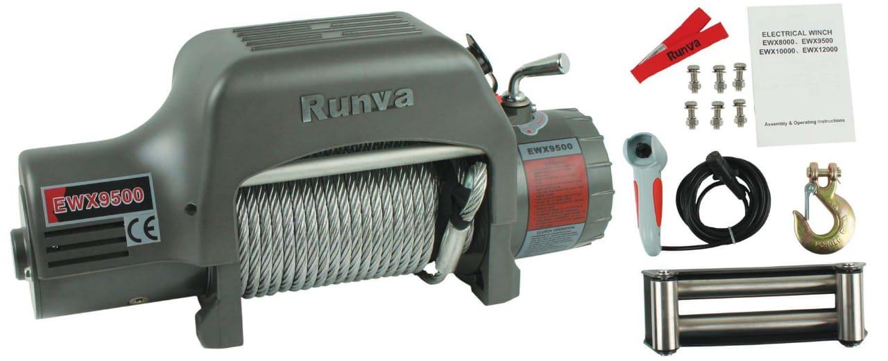 RUNVA EWX 9500 LB POUND 6 1HP WINCH