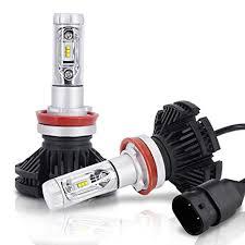 X3 Zes Car Led Headlight Conversion Kit 50w Auto Lights Hi-low Beam 9006