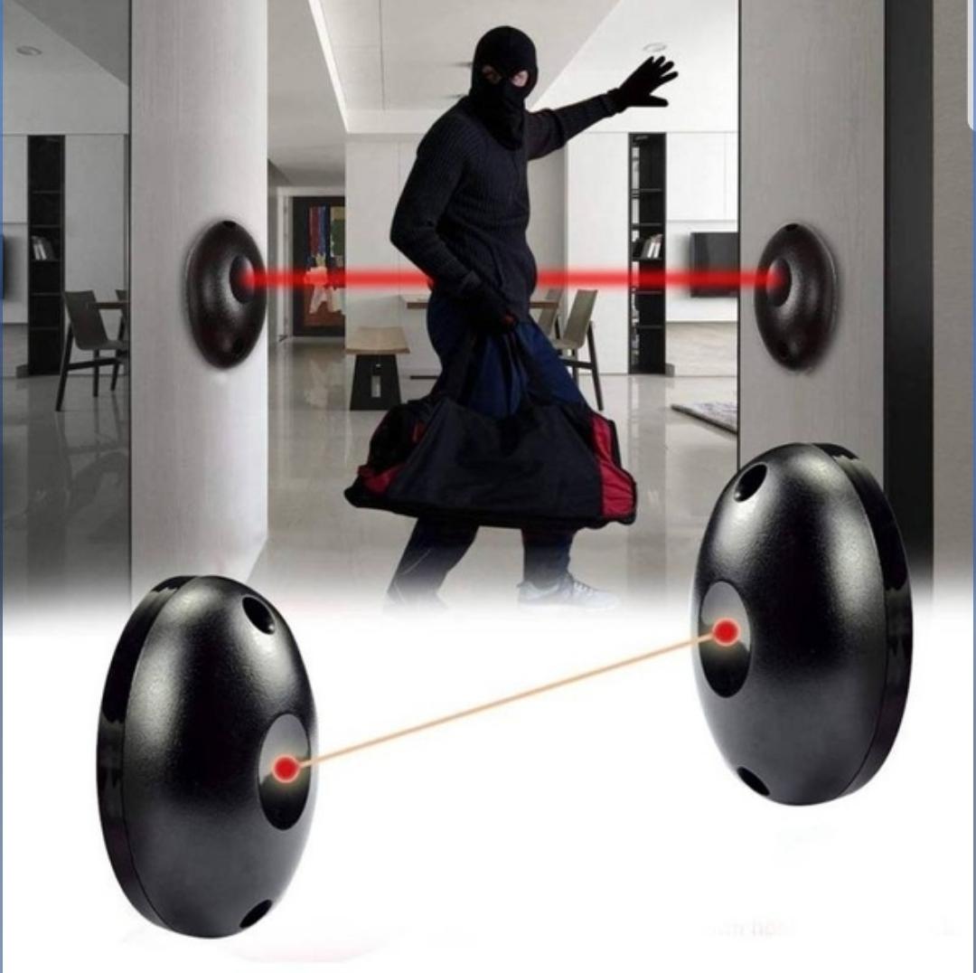 2pcs Infrared Radiation Detector Automatic Door Light Sensor Burglar Alarm Home Security System