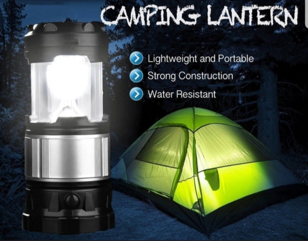 Flashlight Multi-Function Led Lights Camping Lights Solar Rechargeable
