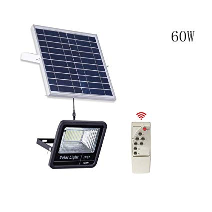 60 Watt Solar flood Light & remote