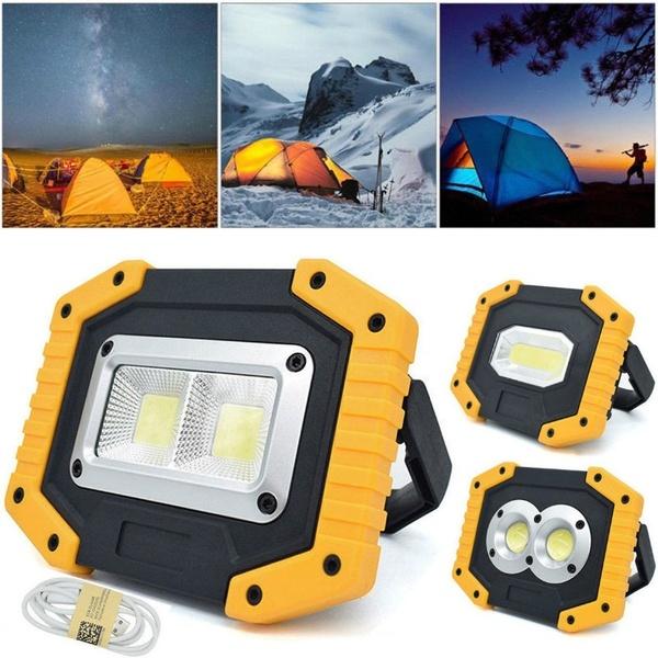 USB COB LED Portable Spotlight