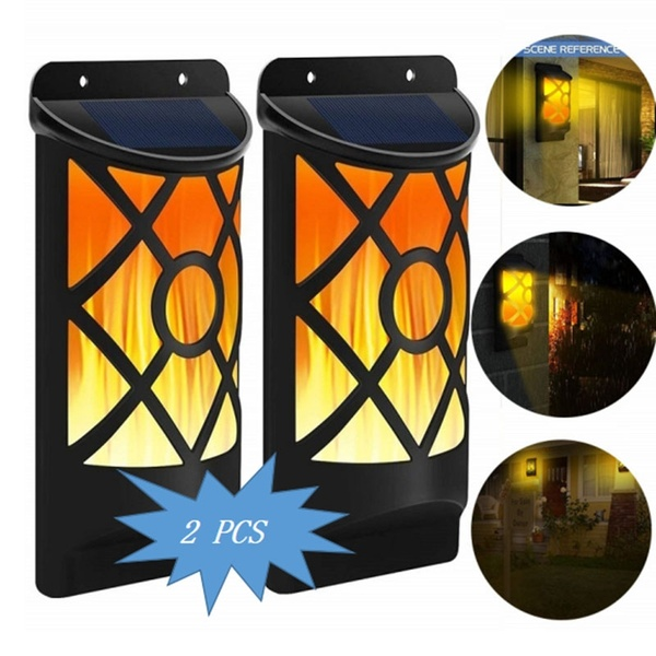 2 X LED Solar Powered Night Lights COMBO SPECIAL