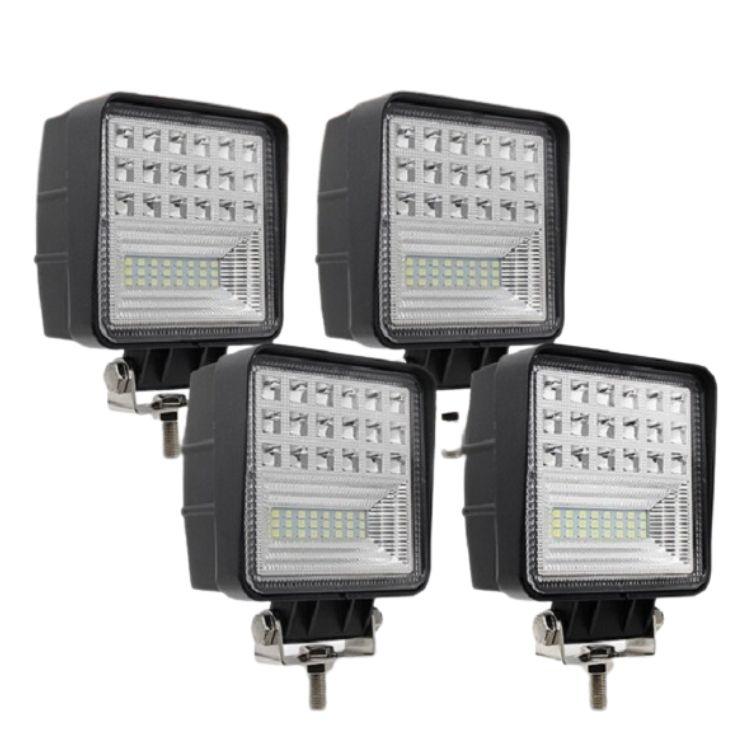 Led Light Bar / Led Spot Light 4 X Epistar 63 Watt 4pcs 4.3inch LED Work Light Combo Special