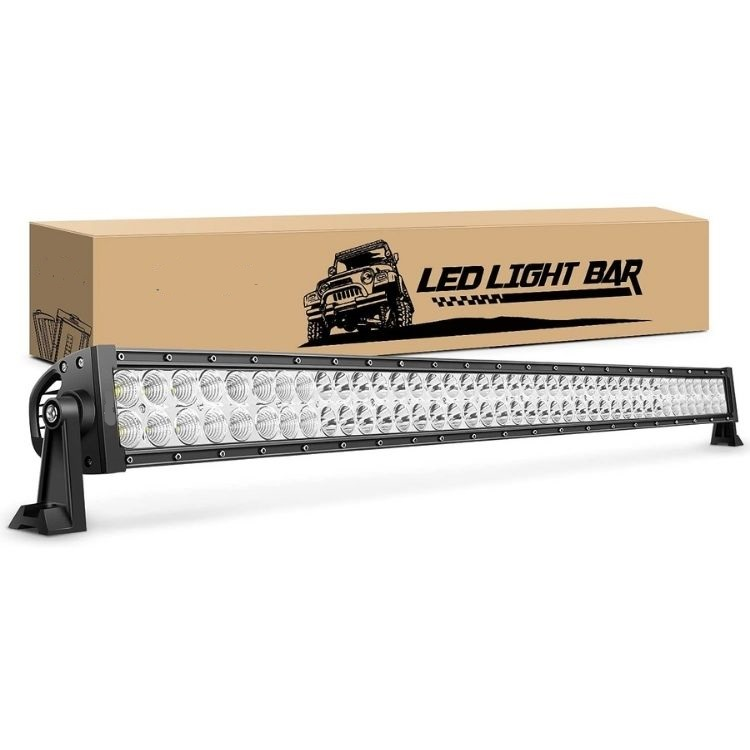 240w Off Road 4X4 Mount On Spot Light Bar & Harness With Remote