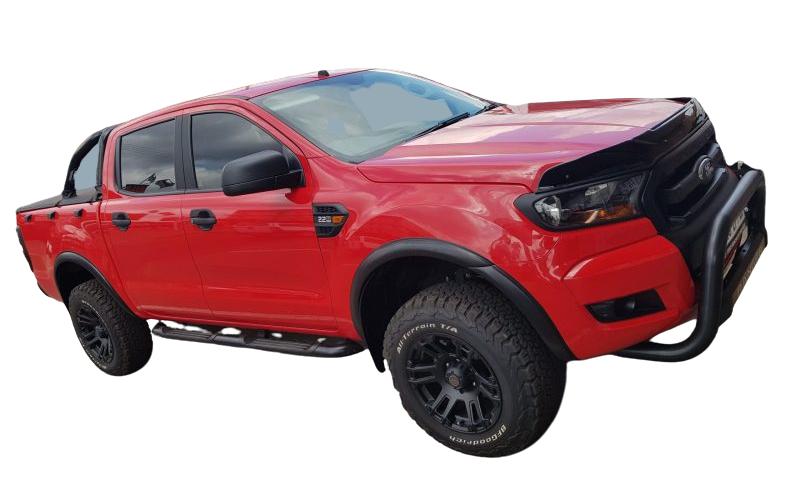 Ford Ranger Super Slim Wheel Arches 33mm 2012 – To Current Matt Black